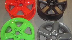 Alloy Wheel repairs and refurbishment
