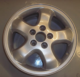 alloy wheel after